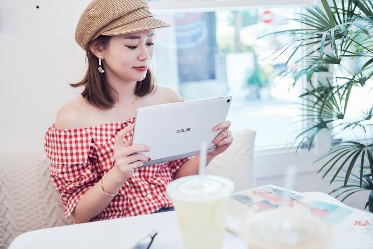 【3C平板】小資女必備追劇神器:ASUS ZenPad 10,針織紋路背板,簡約時尚有質感!