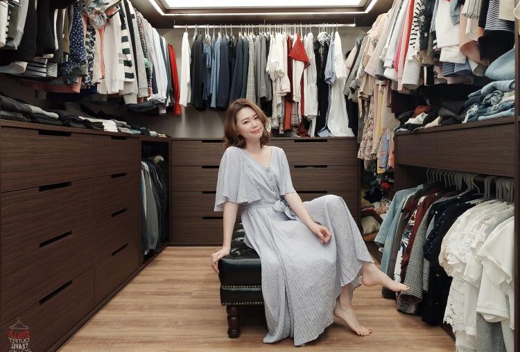 【新家開箱】我們的夢幻更衣室與衣物收納方式分享