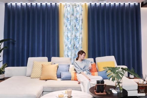 【居家佈置】隆美窗簾BLING New Life系列,拼出時尚品味,讓家裡煥然一新!