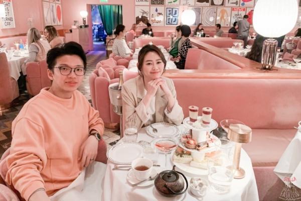 【倫敦必去下午茶】Sketch London少女心大爆發粉色咖啡廳,此生吃過最貴的英式下午茶啊!