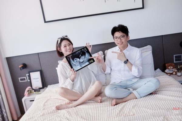 【驚喜歡呼】終於懷孕了,貼心小寶貝來囉❤︎⎜多囊性卵巢症候群看診心得分享