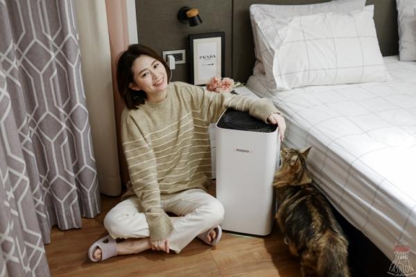 【開箱】終身免耗材超省錢的POIEMA Fit空氣清淨機,時髦優雅安靜,擁有好空氣超簡單!