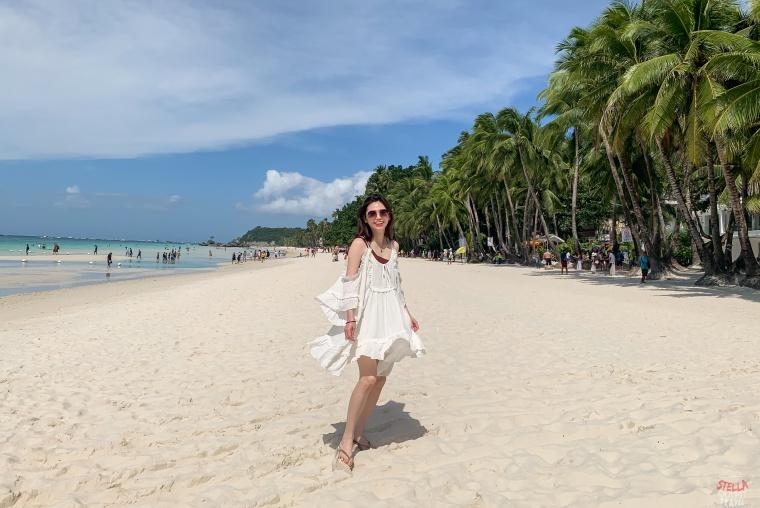 【Boracay】海島穿搭:長灘島5天4夜穿搭,瘋狂穿洋裝當仙女吧!