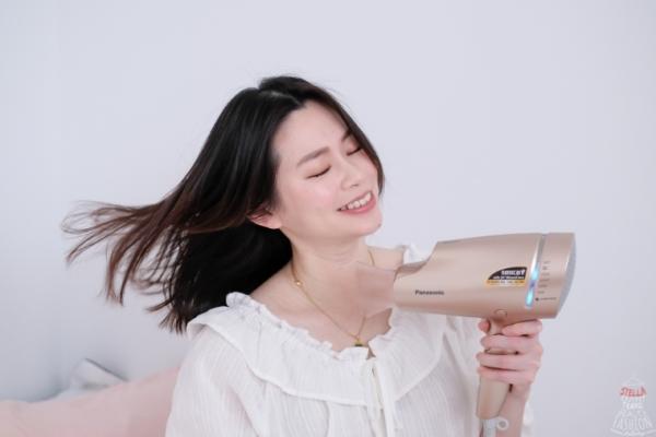【小家電】Panasonic EH-NA9B奈米水離子吹風機(粉金)限量禮盒精裝版,吹髮就像是在保養,頭髮柔順超保濕!