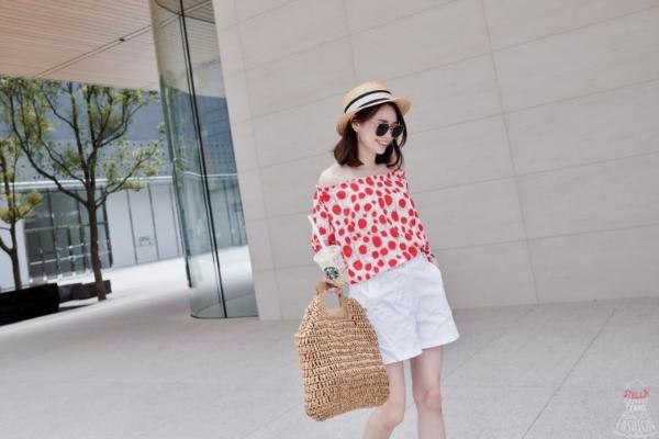 【穿搭】歐薇名品Ouwey七月份盛夏穿搭,跟我一起用穿搭降溫吧!