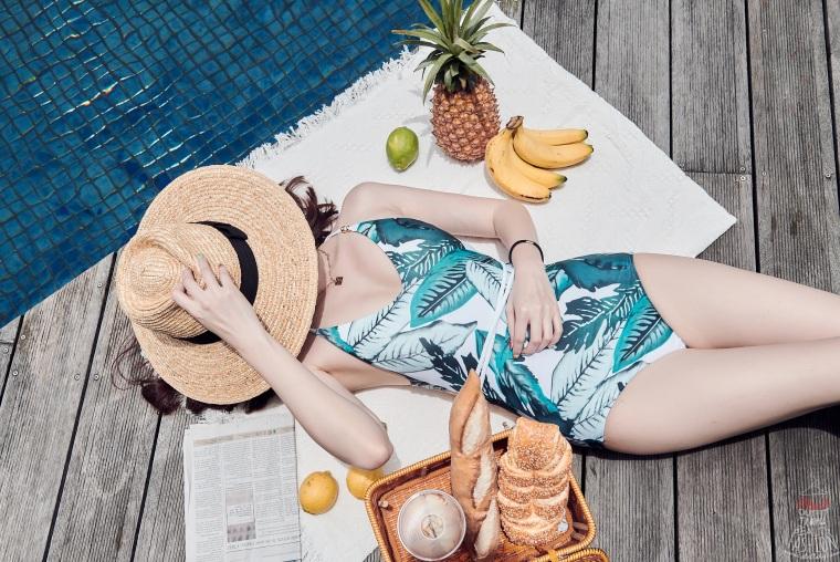 【比基尼推薦】平價美波神器Wave Shine bikini,連身泳裝超時尚,穿上Cup升級小胸救星!