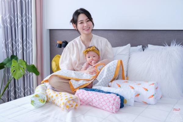 【團購】美國Malabar Baby有機棉包巾/杜哈毯/被毯,圖案超可愛,有機棉舒適安心,必買啦!(8/30結團)