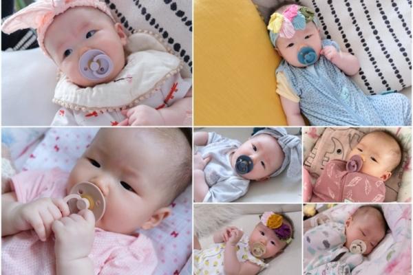 【育兒】最美奶嘴:丹麥BIBS安撫奶嘴,6g超輕寶寶好吸又好看!