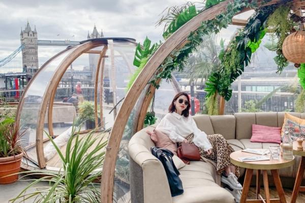 【倫敦網美餐廳】COPPA CLUB超夢幻泡泡屋,欣賞泰晤士河畔還能看到倫敦塔橋唷!
