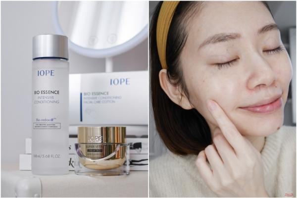 【孕期抗老保養】韓國IOPE黃金霜+神仙水,皮膚糖化作用掰掰,老化紋路不再來!