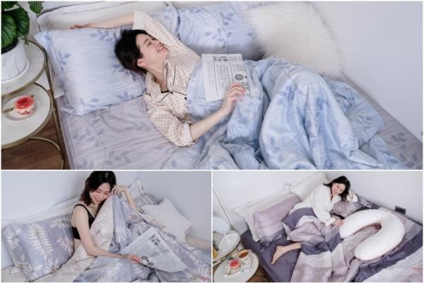 【已結團】2020新花色。HOYACASA春夏款薄天絲兩用被四件床組(60支/40支),專利抗菌沁涼舒適!
