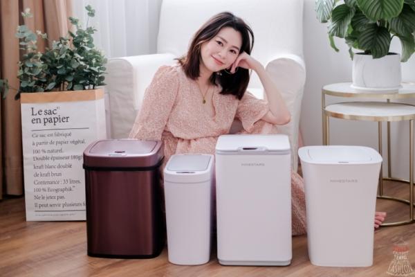 【已結團】質感居家美學必備!美國NINESTARS感應式垃圾桶,丟垃圾不沾手乾淨又衛生