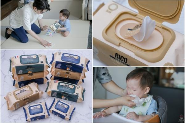 【育兒】韓國RICO baby超純水濕紙巾,不連抽不易破,超好擦的有機金盞花寶寶濕紙巾!