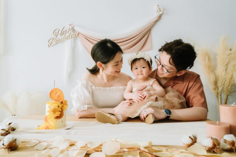 【週歲寫真】Harper滿週歲囉~CJ PAPA西街爸爸 家庭親子攝影師,照片超有溫度超美!