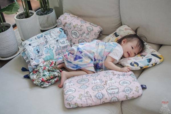 【育兒】波蘭La Millou頂級嬰幼兒,100%竹纖維涼感降溫又透氣:包巾/兒童涼感枕頭/涼感被(9/3結團)
