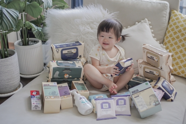 【育兒】韓國RICO baby超純水濕紙巾,不連抽不易破,超好擦的有機金盞花寶寶濕紙巾!(9/30結團)